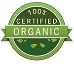 Chứng nhận 100% sản phẩm hữu cơ